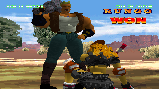 Screenshot Thumbnail / Media File 1 for Battle Arena Toshinden 2 [U]